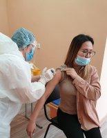 Массовая вакцинация работников учреждения