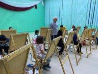 Творческая неделя с художником В.И. Кривошеином для обучающихся объединении  отдела декоративно-прикладного творчества и изобразительного искусства